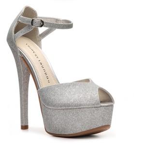 Sparkly Strap Heels