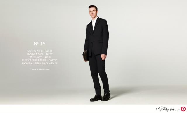 Phillip Lim Menswear Target 2013