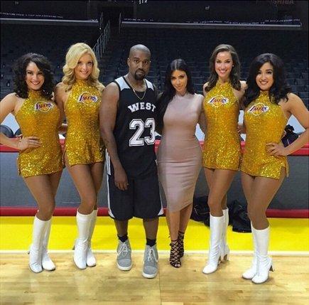 Kimye & Lakers