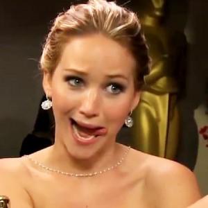 Jennifer Lawrence goofy