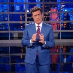 Colbert Nails His Late Show Debut