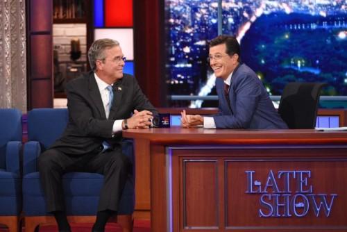 Bush & Colbert