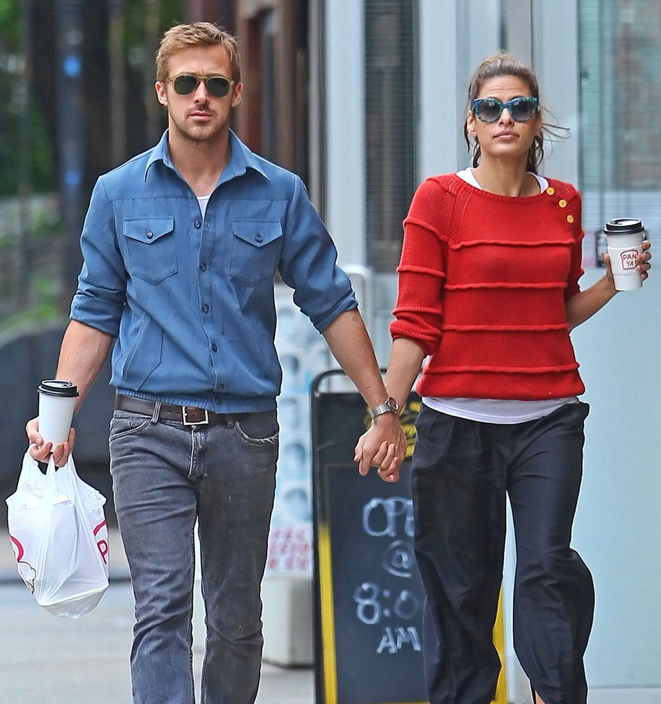 Eva Mendes and Ryan Gosling couple