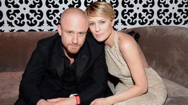 Robin Wright and Ben Foster couple