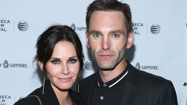 Courtney Cox and Johnny McDaid couple