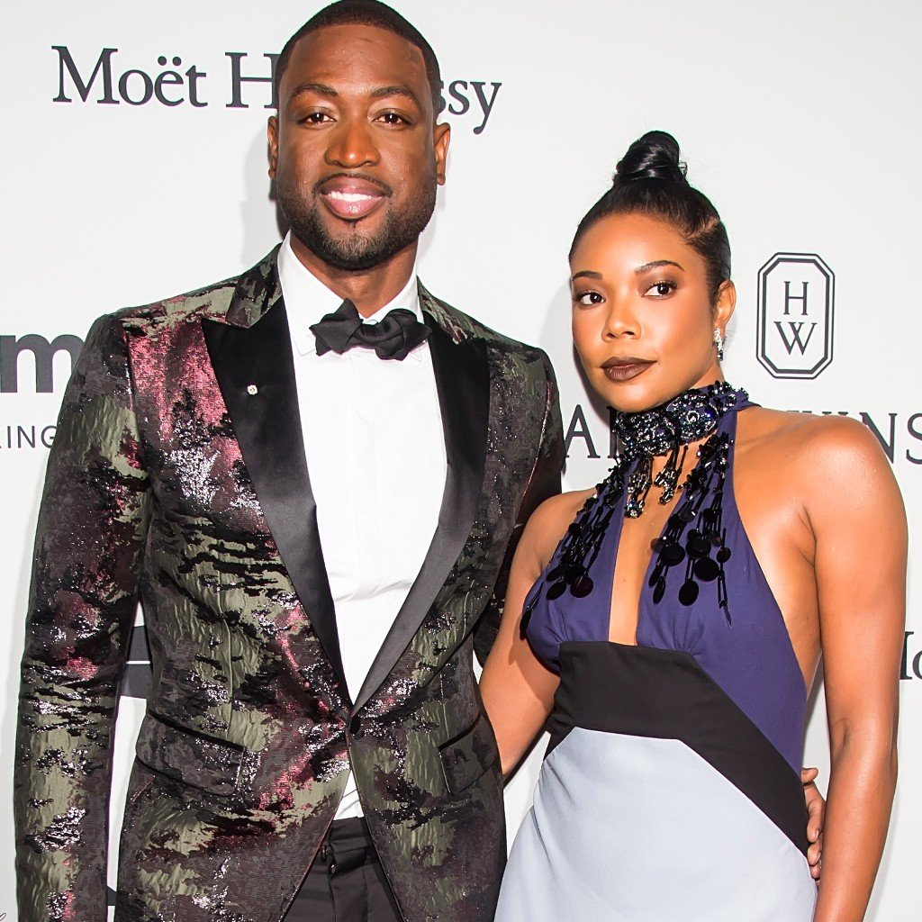 Gabrielle Union and Dwyane Wade couple