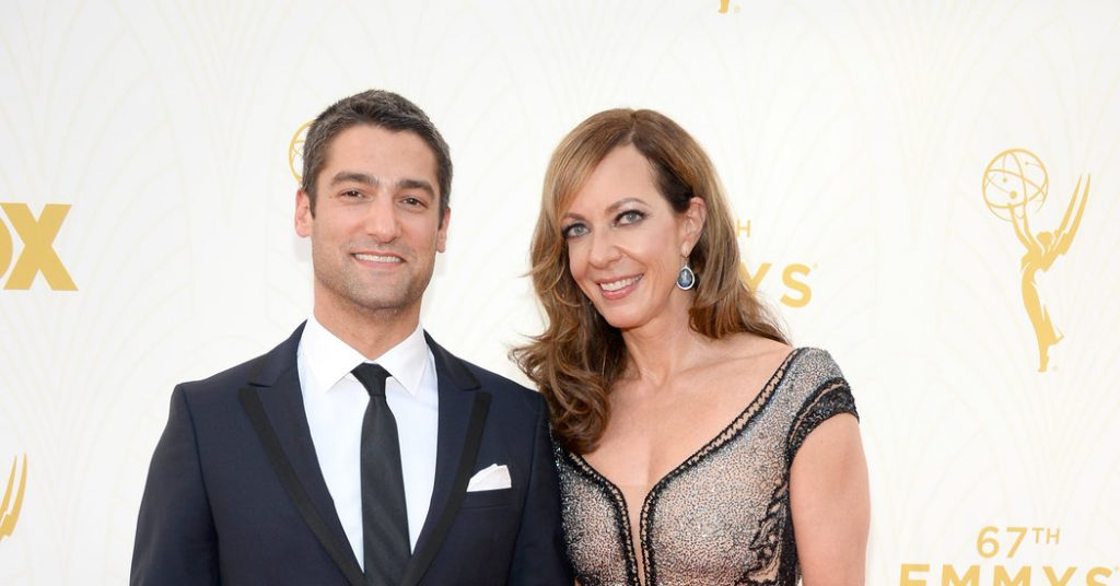 Allison Janney and Philip Joncas couple