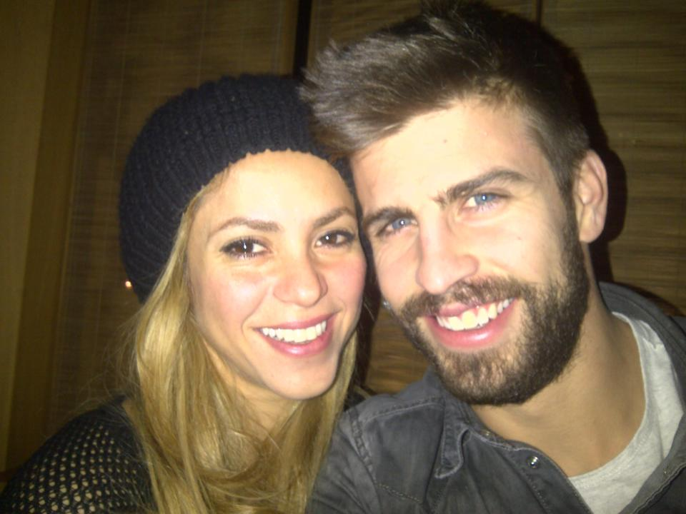 Shakira and Pique couple