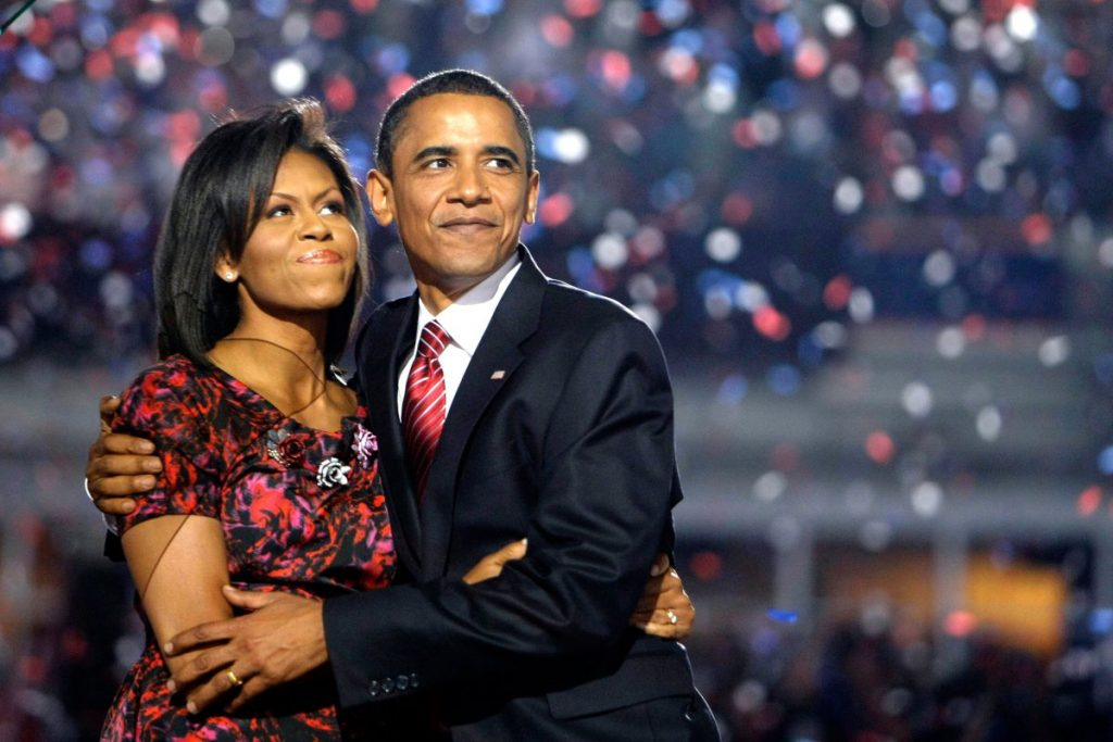 Michelle and Barack Obama power couple